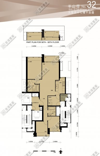 To Kwa Wan Flat 32 High Floor Celestial Avenue 32 Phase 1 Celestial Heights Find Property Hong Kong Property